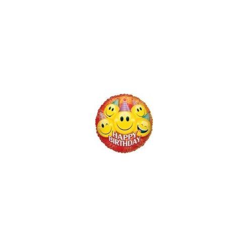 """Lufi fólia 18""""""""gömb Smile Happy"""""""""""