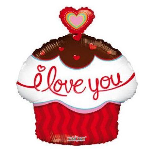 """Lufi fólia 18 muffin ILove you"""""""