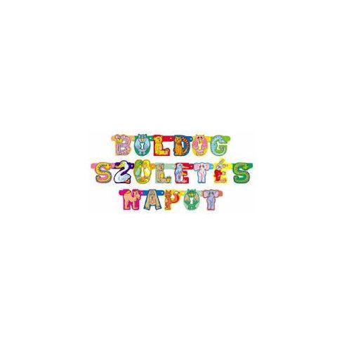 Party kellékek - Boldog Szülinapot felirat - Állatos