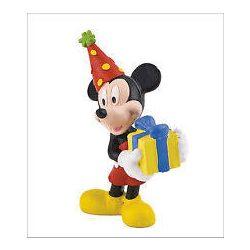 Mese figurák - Mese szereplők - Mickey ünnepel műanyag játékfigura, Bullyland
