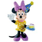 Mese figurák - Walt Disney Minnie ünnepel műanyag játékfigura Bullyland