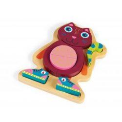 Baba puzzle - fa kirakós játék Jerry Cicával OOPS
