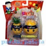 Fruit Ninja - gyűjthető figurák - ananász - narancs