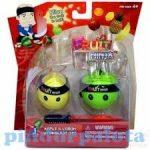 Fruit Ninja - gyűjthető figurák - alma - citrom