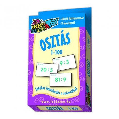 Kártyajátékok - Matematikai gyakorló kártya osztás