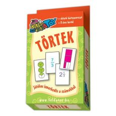 Kártyajátékok - Törtek kártya