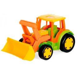 Járművek - Műanyag játékautók - Óriás játék munkagép 100kg-os teherbírással homokozáshoz
