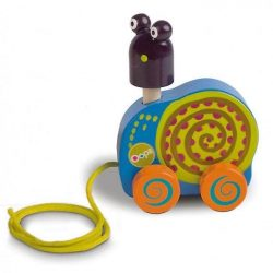 Bébijátékok - Fejlesztő játékok - Huzógatós csiga