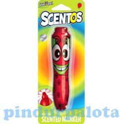 Íróeszközök - Scentos illatos filctoll szamóca