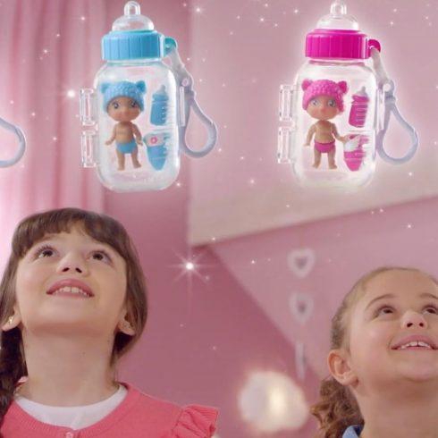 Játékbaba kiegészítők - Lil Cutesies Cumisüveg babák kiegészítőkkel JC Toys