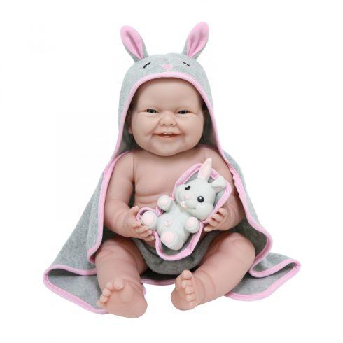 Berenguer Élethű játékbabák - Berenguer Játékbaba Nyuszis fürdőszettben