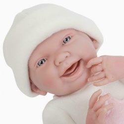 Berenguer - újszülött lány karakterbaba - sárga ruhában