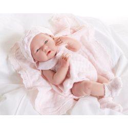 Élethű játékbabák - Pufók baba kötött ruhában