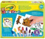 Foglalkoztató füzetek - Matricás puzzle foglalkoztató kicsiknek Crayola