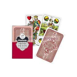 Társasjátékok - Kártyák - Magyar kártya piros színben
