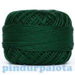 Puppets Perlé hímzőfonal - zöld 10gr