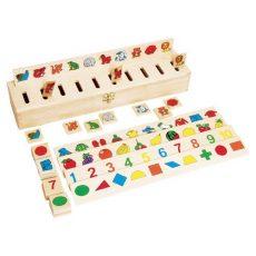 Ügyességi játékok - Szortírozó doboz