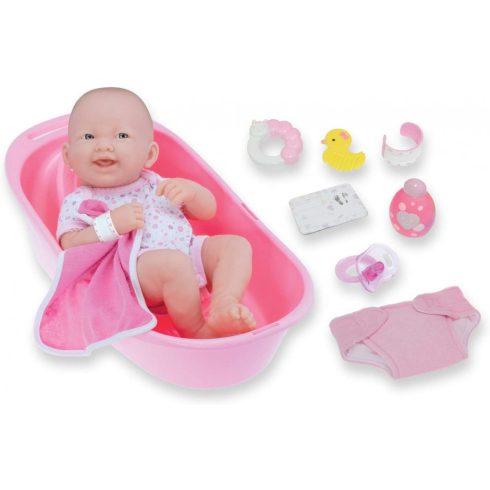 Élethű babák - Berenguer - Újszülött mosolygós baba kiegészítőkkel