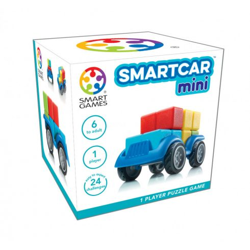 Logikai játékok - Smart Car Mini Logikai játék Smart Games