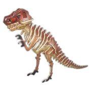 3D-s puzzle kirakó - 3D puzzle Tyrannosaurus (színes)