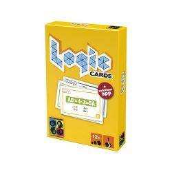 Logikus gondolkodás fejlesztő játékok - Logikai játékok - Készségfejlesztők - Brain Games Logic card