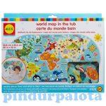 Pancsolós játékok - Alex tapassz a csempére Világtérkép
