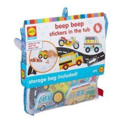 Pancsolós játékok - Fürdetős játékok babáknak - Alex Tapassz a csempére Autópálya