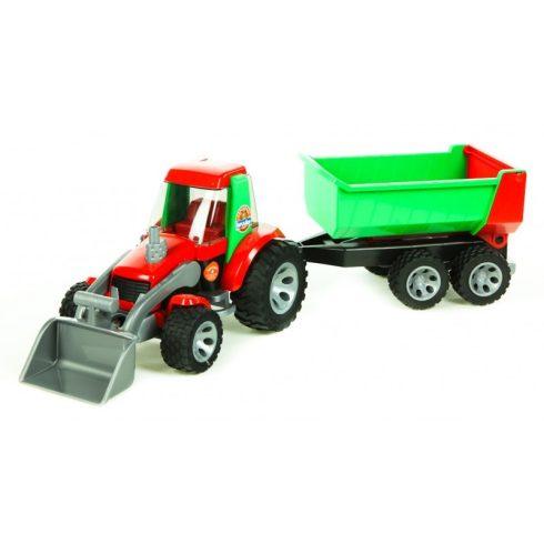Járművek - Műanyag játékautók - Bruder Roadmax Traktor rakodóval