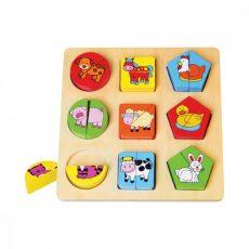 Fejlesztő játékok babáknak - Háziállatos párkereső