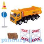 Játék autók - Autós játékok - Útépítő kisautós készlet dömper Dickie