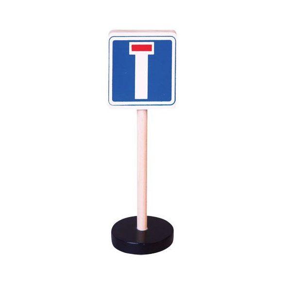 Kresz-táblák - Zsákutca közlekedési tábla