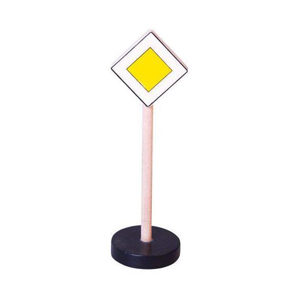 Játék Kresz-táblák - Főútvonal