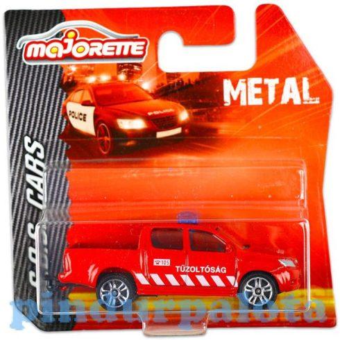 Tűzoltós játékok - Tűzoltó kisautó Majorette