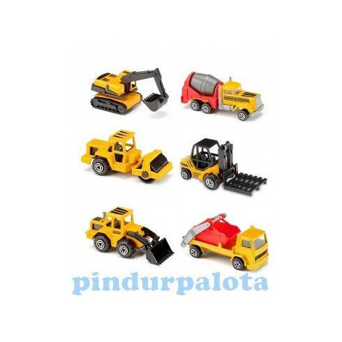 Játék kiskocsik - Úthenger föld munkagép