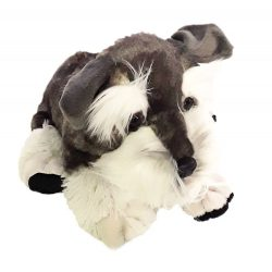 Plüss kutyák - Schnauzer