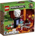 Lego Hero Factory - LEGO Minecraft 21143 Az Alvilág kapu