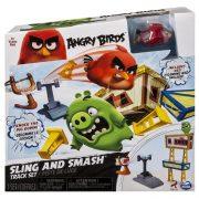 Ügyességi játékok - Angry Birds kilövő ügyességi játék, Sling and Smash