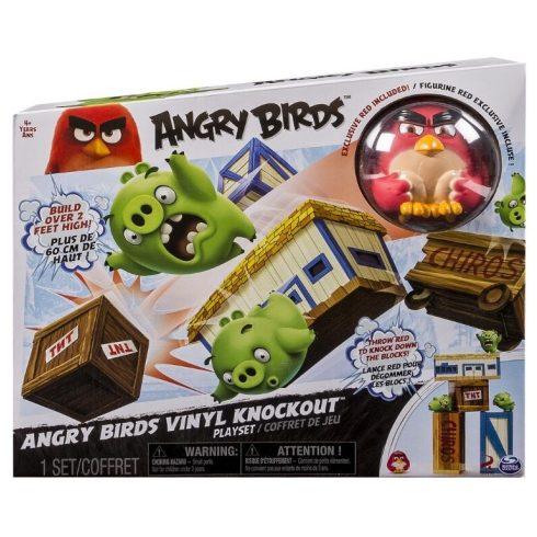 Ügyességi játékok - Angry Birds kilövő ügyességi társasjáték