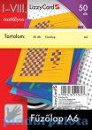 Barkács kartonok, Rajzlapok, Színes papírok, papírblokkok - Fűzőlap A6