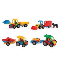 Járművek - Wader Buggy autó utánfutóval