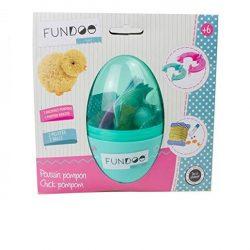 Figurakészítő játékok  - Kreatív tojás - Pompon állatka készítő csibe