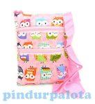 Táskák - Táska kislányoknak baglyokkal rózsaszín