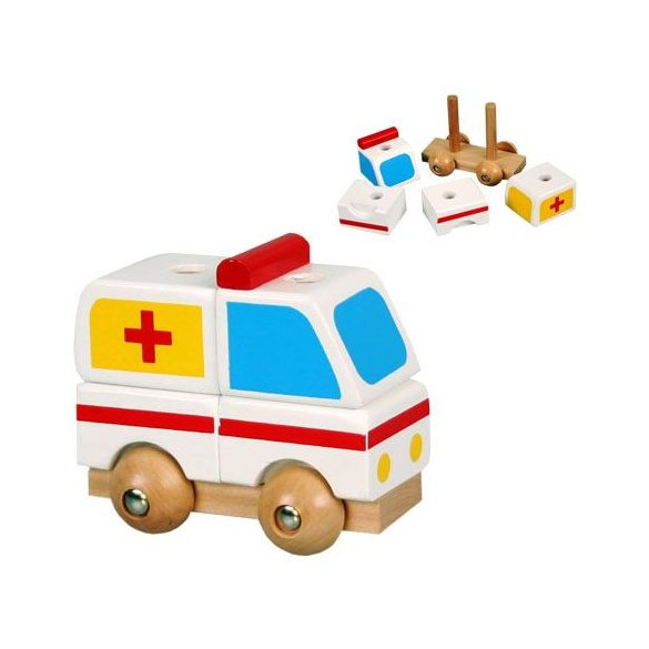 Szétszedhető mentőautó