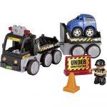 Autós szerelős játékok - Revell Junior R/C Autószállitó