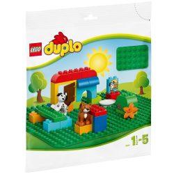 Építőjátékok - Alaplapok - 2304 LEGO DUPLO Nagy zöld építőlap