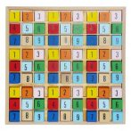 Készségfejlesztő - Logikai - Sudoku színes