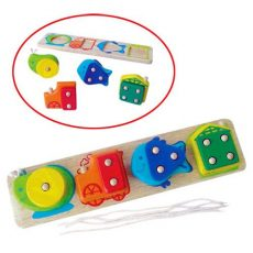 Készségfejlesztő - Fűzős játékok - Formalap