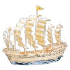 3D Puzzle vitorlás hajó a Ming dinasztiából