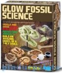 Kreativ hobby- Készletek- Kreatív játék fiúknak készíts fosszíliákat 4M világít a sötétben