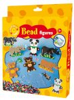 Készségfejlesztő - Fűzős játékok - Maci-orrszarvú gyöngyképkészítő